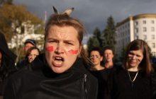#czarnyprotest w formie teledysku.