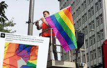 Wszystkie flagi LGBT zniknęły z ulic Poznania. Młodzież Wszechpolska: