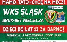 Śląsk Wrocław zorganizuje akcję