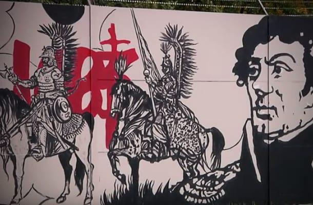 To b dzie najwi kszy patriotyczny mural w polsce wideo for Mural legionowo