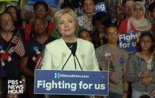 Clinton powiększa przewagę w wyścigu o Biały Dom