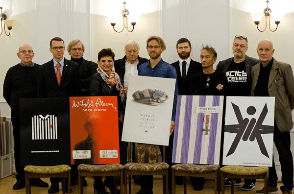 Rotmistrz Pilecki Bohater Niezwyciężony - znamy laureatów konkursu na plakat o nagrodę Ministra Obrony Narodowej i Fundacji PZU