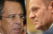 Siergiej Ławrow skrytykował Donalda Tuska. Zaapelował, aby UE nie popierała jego stanowiska