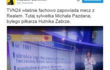 TVN24 zapowiada mecz Legii z Realem i... zalicza wpadkę.