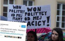 Feministki chcą zablokować wejście do warszawskiego metra. Wykpił je redaktor naczelny