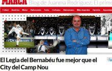 Hiszpański dziennikarz: Legia była lepsza na Santiago Bernabeu niż Manchester City na Camp Nou