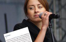 Lewicowy publicysta solidaryzuje się z Natalią Przybysz.