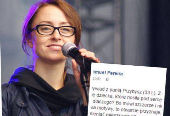 Dziennikarz TVP skomentował wywiad Natalii Przybysz, w którym przyznała się do aborcji.