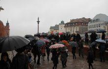 Ogólnopolski Strajk Kobiet - Czarny Protest w Warszawie [FOTORELACJA]
