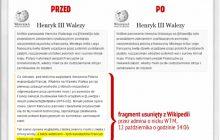 Polacy uczyli Francuzów jeść widelcem? Manipulacje w Wikipedii