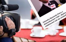 Dziennikarz TVN tłumaczy zamieszanie z Ryszardem Petru na konferencji prasowej
