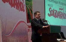 Szef Solidarności ostro do zwolenników handlu w niedzielę.