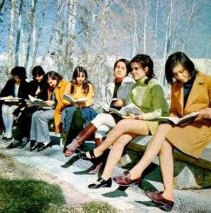 Irańskie kobiety przed islamską rewolucją fot. wikicommon