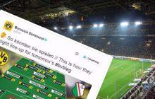 Zabawna sytuacja na Twitterze. Borussia przekonała się, jak trudny jest język polski! Legia przychodzi z pomocą
