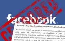 Przełom w sprawie Facebooka! List otwarty przedstawiciela serwisu na Europę