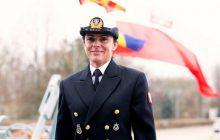 Pierwsza kobieta w historii objęła dowództwo nad polskim okrętem wojennym