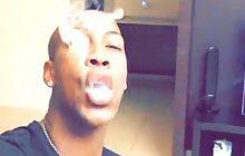 Piłkarz Legii pokazuje jak nie korzystać z social media. Fajka wodna, kłęby dymu i alkohol [FOTO+WIDEO]