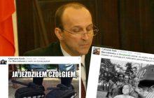 Marcinkiewicz czołgistą, a OT to ZOMO? Internet pęka ze śmiechu z wypowiedzi byłego premiera