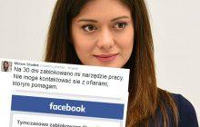 Kuriozum! Shaded publikuje groźby pod jej adresem, a Facebook... blokuje jej konto