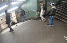 Pamiętacie brutalny atak na kobietę w metrze? Sprawca zatrzymany przez policję [WIDEO]
