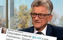 Echa reportażu TVN24 o Stanisławie Piotrowiczu.