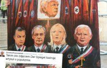 Politycy w mundurach SS. Skandaliczny rysunek w niemieckiej gazecie. Internet zawrzał