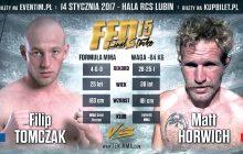 Matt Horwich vs Filip Tomczak na FEN 15 Final Strike