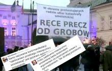 Dyskusje dziennikarzy o akcji Obywateli RP.
