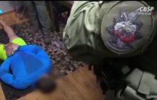 Tak wyglądało zatrzymanie Materli, byłego mistrza KSW. Oddział policji i granaty hukowe [WIDEO]