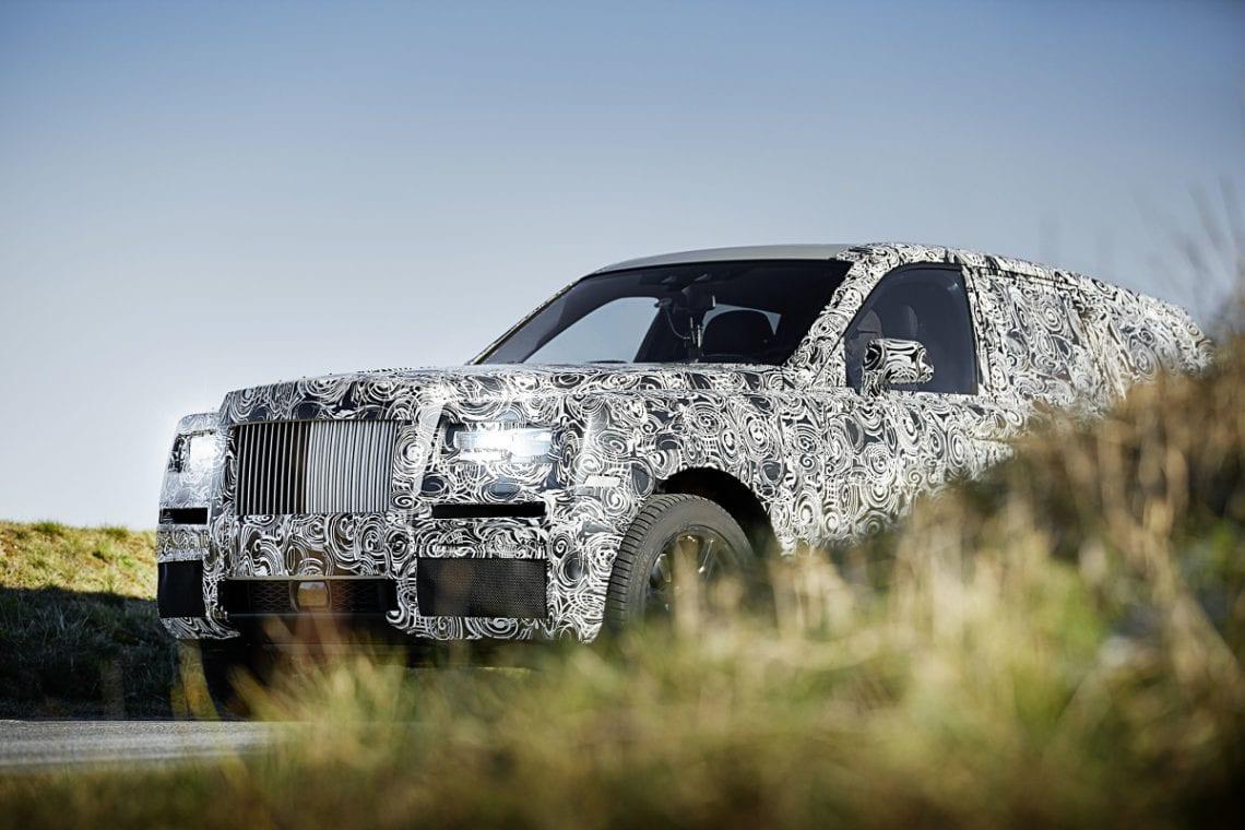 Pierwszy SUV w gamie Rolls- Royce'a