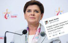 Piękny gest premier Szydło dla rodziny polskiego kierowcy, który zginął bohatersko walcząc z terrorystą