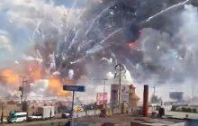 Meksyk: Wielki wybuch na rynku z fajrewerkami. Są zabici i ranni [FOTO+WIDEO]