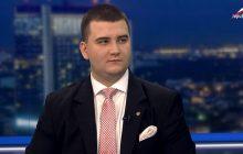 Bartłomiej Misiewicz tłumaczy wizytę w klubie.