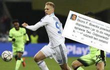 Wulgarny SMS piłkarza reprezentacji Polski do dziennikarza