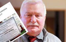 Lech Wałęsa honorowym obywatelem Namysłowa. Mieszkańcy wywiesili... klepsydry [FOTO]