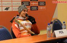 Kolejne zabawne spotkanie Piotra Żyły z dziennikarzami.