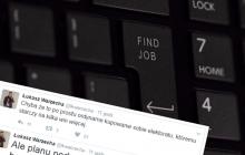 Mocny wpis Warzechy na temat podwyżki zasiłków dla bezrobotnych.