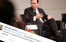 Sikorski komentuje współpracę Wałęsy z SB.