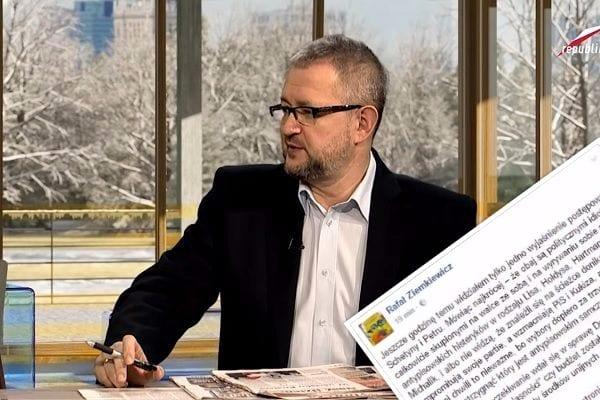 Ziemkiewicz tłumaczy obecne działania opozycji.