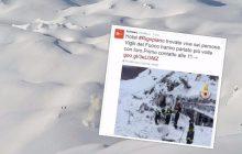 Włochy: Sześć żywych osób znaleziono w zasypanym lawiną hotelu!