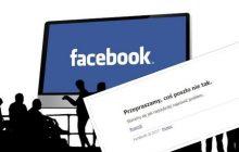 #Facebookdown, czyli awaria portalu społecznościowego. Ludzie na całym świecie zgłaszają problem. A jak jest u Was?