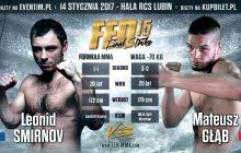 Smirnov nowym rywalem Głąba na FEN 15 Final Strike