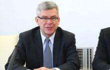 Marszałek Senatu o podpaleniu biura Beaty Kempy i ustawach o KRS i SN