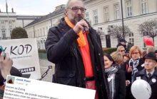 Były członek zarządu KOD szydzi z oświadczenia Kijowskiego.