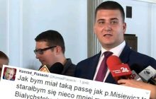Dziennikarze komentują doniesienia ws. Misiewicza.