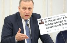 Nie tylko Petru był na wczasach podczas protestu w Sejmie. Schetyna jeździł na nartach?