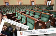 To nie był dzień posłów .Nowoczesnej i PO.  Jak to było z pustą salą plenarną? [FOTO]