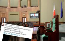 Sala plenarna pusta? Gdzie podziali się protestujący posłowie? [WIDEO]