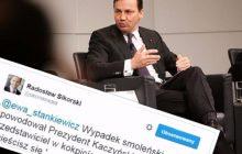 Burzliwa dyskusja Radosława Sikorskiego z dziennikarką. Były szef MSZ nie szczędził mocnych słów