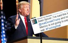 Były prezydent Meksyku o pomyśle Trumpa: